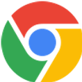 Google Chromeロゴ